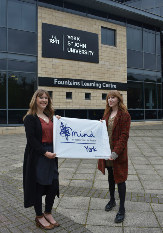 Laura launches the campaign with York Mind