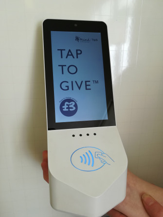 York Mind launch contactless giving 2