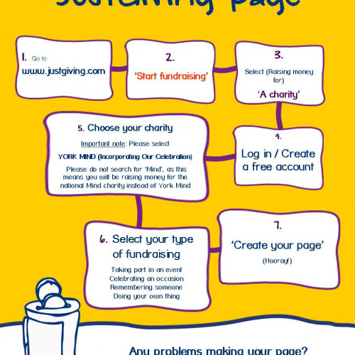 How to set up a JustGiving page
