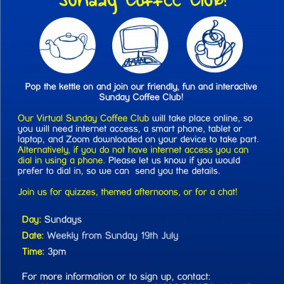 York Mind Virtual Sunday Coffee Club (1)